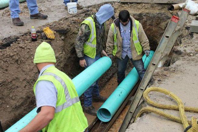 PVC kanalizacione cijevi: pravila o veličini i izbor