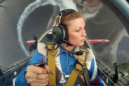 Svetlana Kapanina pilot instruktor 1. klase