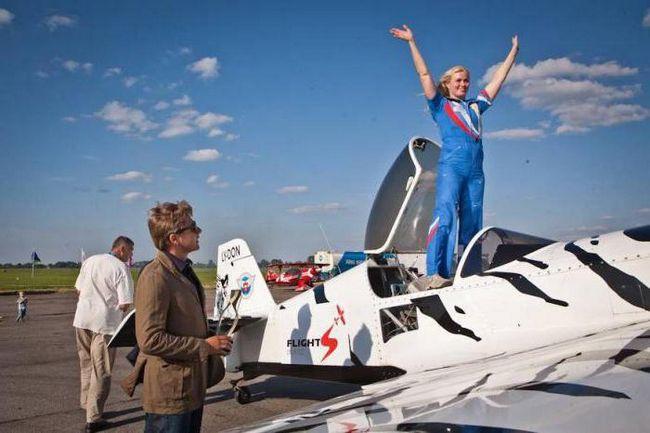 aviatrix Svetlana Kapanina biografija