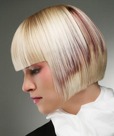 Каре с челкой на тонкие волосы средней длины: техника, фото