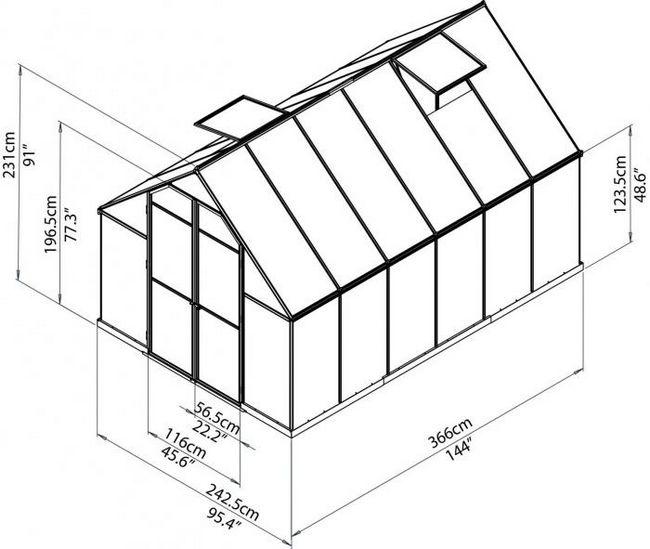 Kako napraviti okvir izrađen od drveta plastenika