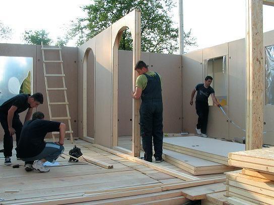 постройка каркасно щитовых домов