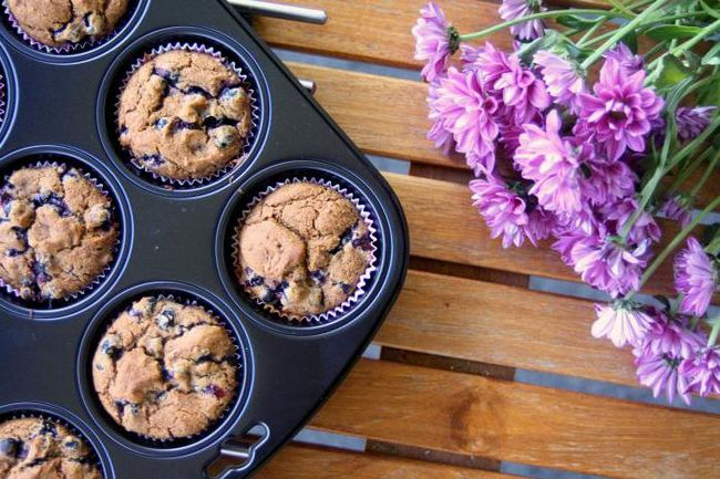 Cupcakes sa ribizle: recepti