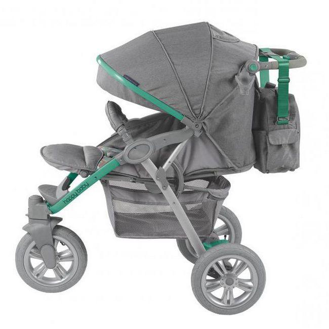 прогулочная коляска happy baby neon sport характеристики