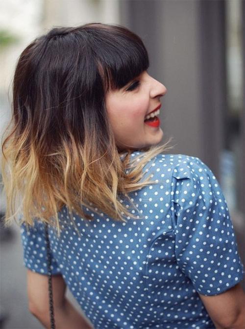 Колорирование волос на короткие волосы (фото)