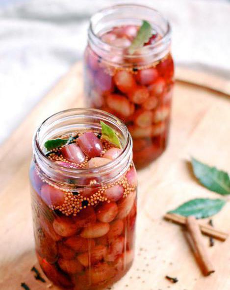 Gotovi grožđe za zimu: recepti