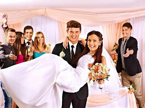 mi smo gost na vjenčanju