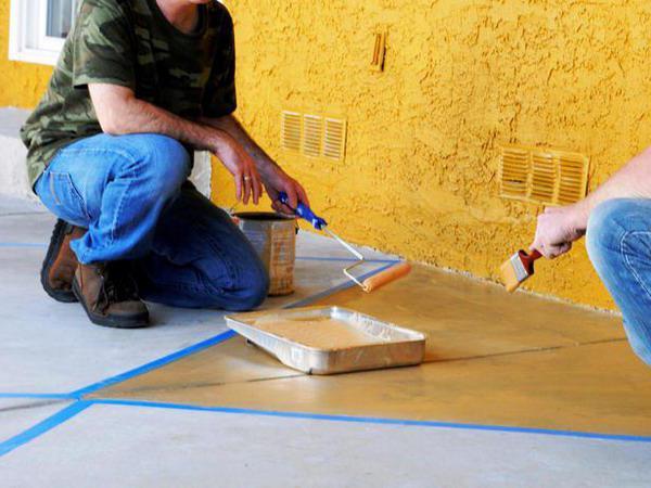 poliuretanska boja za beton