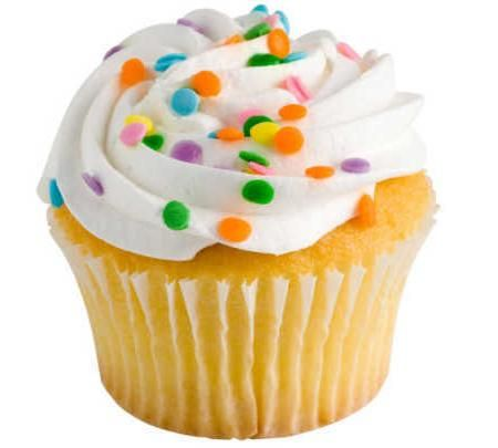 Kremasta krema cupcakes