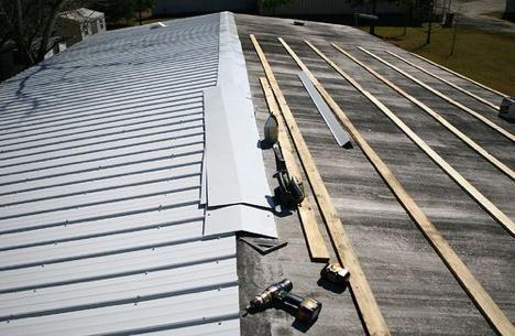 krov od metala rada