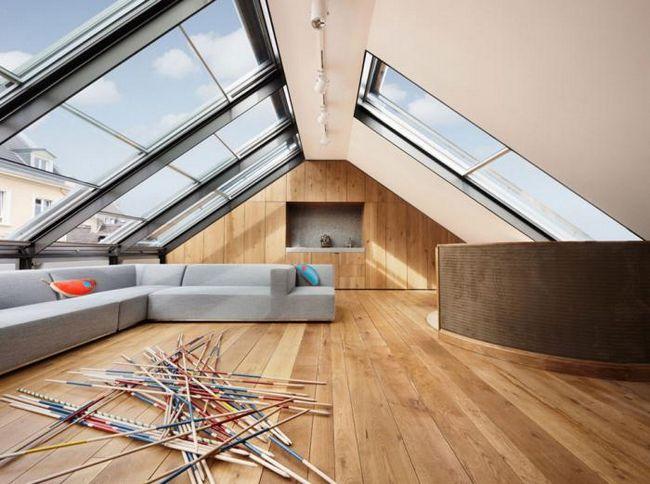uređaj krovu kuće sa potkrovljem