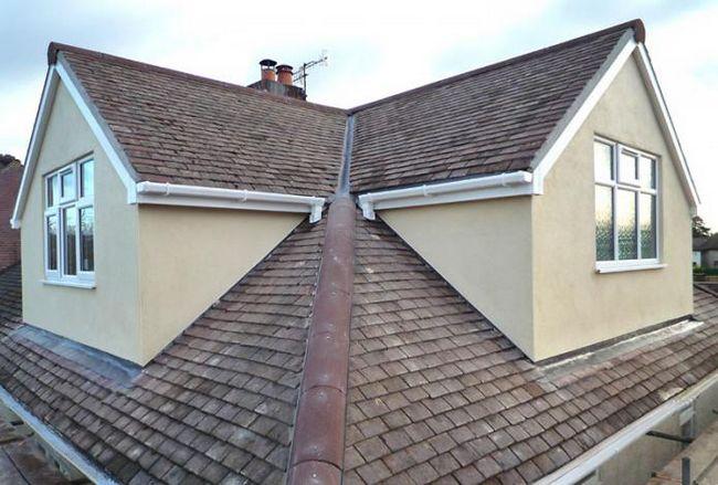 krovovima kuća sa potkrovljem dizajna