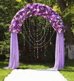 lavanda vjenčanje ukras [