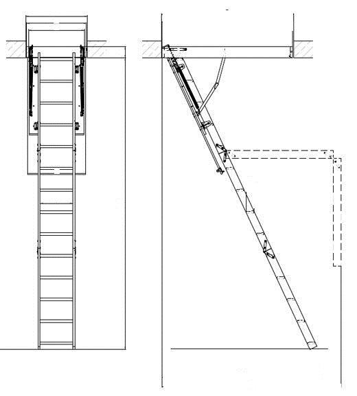 Folding Ladder sa svojim rukama