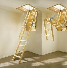 Stepenice na potkrovlje sa svojim rukama