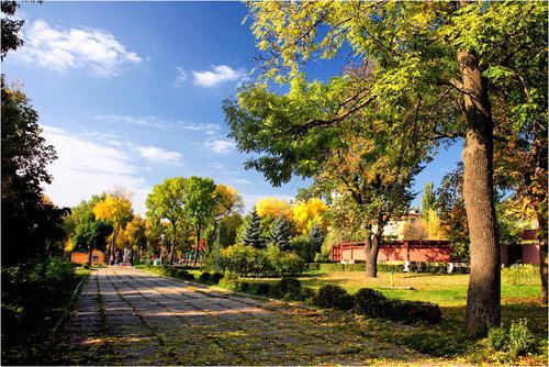 Липецк: нижний парк. История и описание объекта