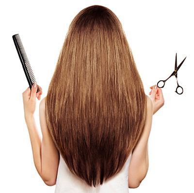 «Лисий хвост» – стрижка для средних и длинных волос.