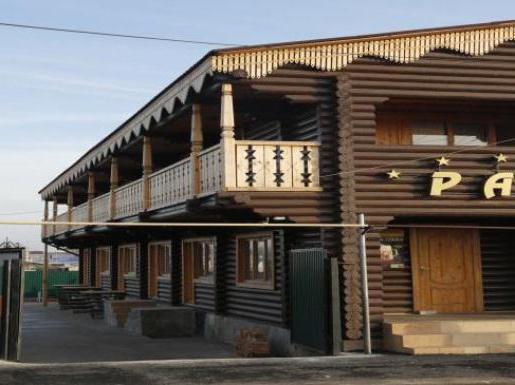 Hotel Paradise u Salt Iletsk
