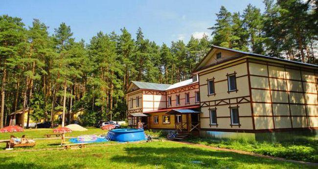 kampi in rekreacijskih centrov v Nižni Novgorod regiji