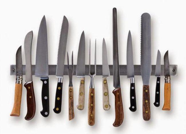 Najbolje noževi Rusiji i svijetu. Top kuhinja, borbe, lovačke noževe
