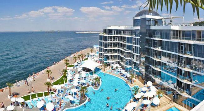 rekreacijski centar s bazenom u Odesi