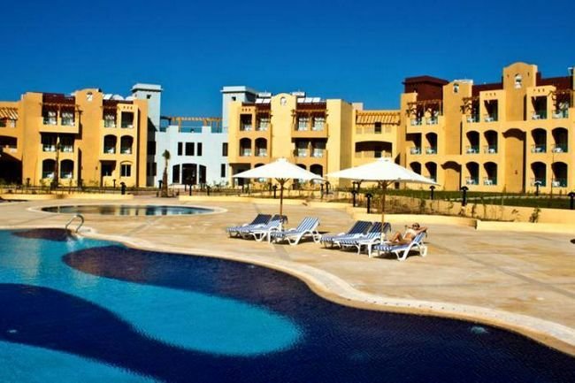 Makadi vrt Azur Resort