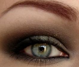 Smoky make-up za različita oka boje