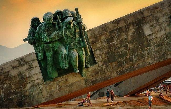 Krasnodar spomen mala zemlja
