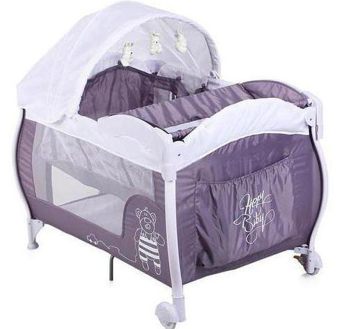 манеж кровать happy baby