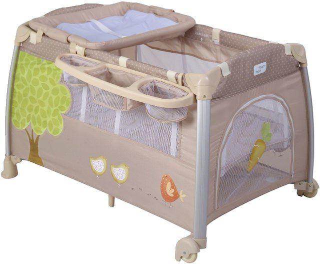 манеж кровать happy baby thomas