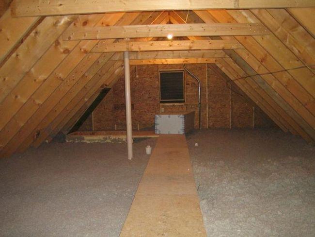 tavan ili drugom katu