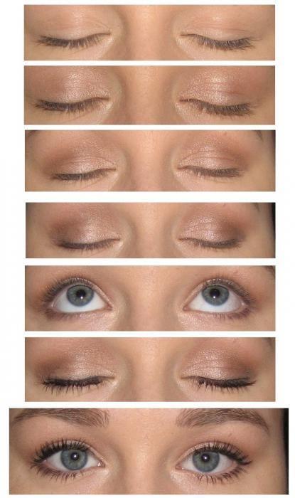 Mastkr klase na oku šminka