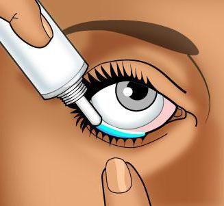 Mast za oči od upala i crvenilo. Tetraciklin, eritromitsinovaya mast