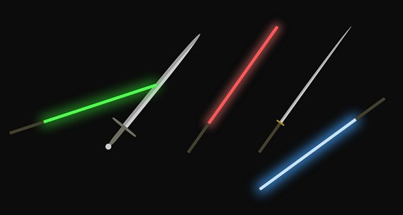 Star Wars svetlosne