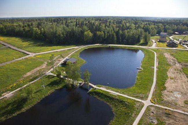 Медвежьи озера, пляж. Щелково, московская область