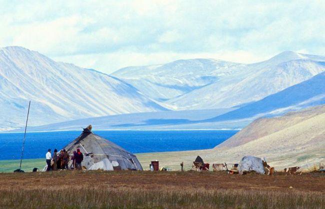 Местоположение чукотского полуострова, климат и достопримечательности