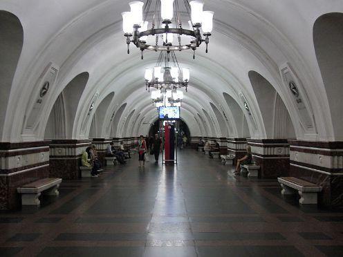 metro Frunzenskaya