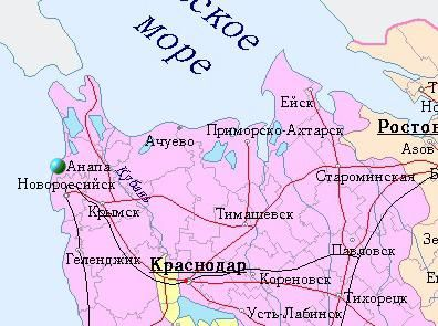 Anapa je Rusija ili Ukrajina
