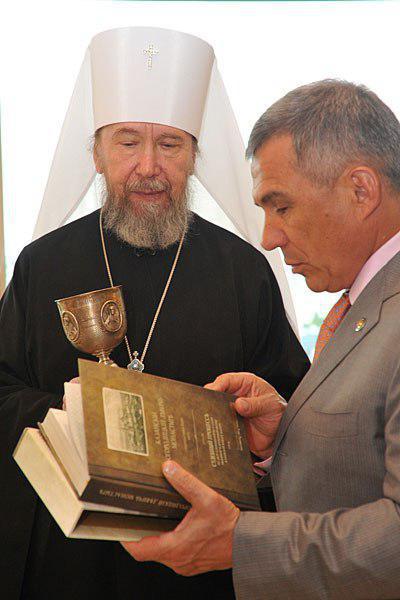 Metropolitan Anastazije Kazan (u svetu Aleksandar Metkin). Episkop Ruske pravoslavne crkve