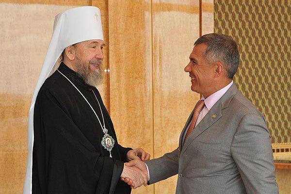 Metropolitan Anastasije Kazanj suspendovan