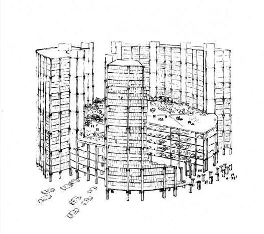 višespratne zgrade shema