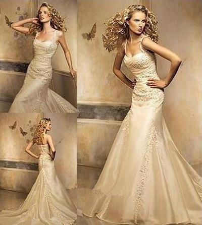 Модные тенденции. Свадебное платье: цвет айвори