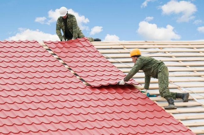 postavljanje krova od metala vodiča
