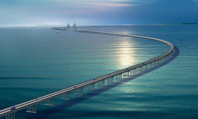 Мост ханчжоу в китае