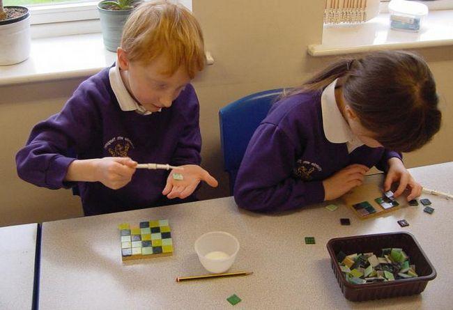 Mozaik za djecu od 3 godine