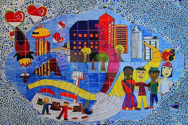 Mozaik za djecu od jedne godine