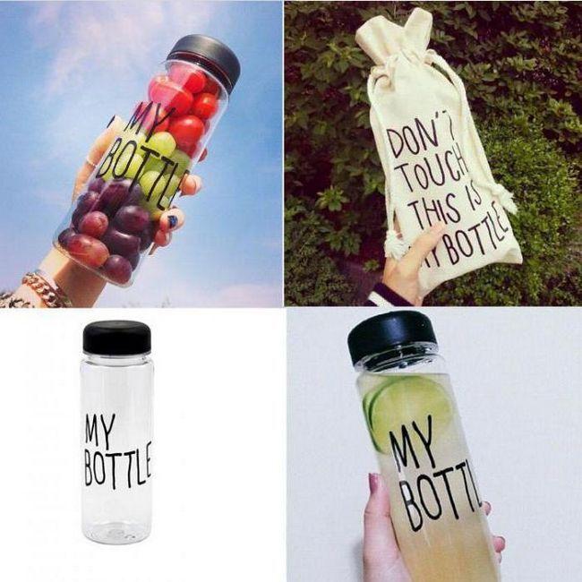 MY BOTTLE - что это такое? Бутылка для воды MY BOTTLE: особенности, рецепты и отзывы
