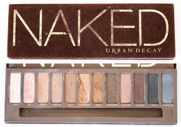Naked (косметика): отзывы покупателей. Палитра теней naked