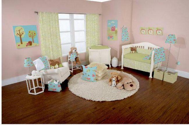 Podna obloga za dijete soba - što je bolje? Kako odabrati parket za dječju igraonicu