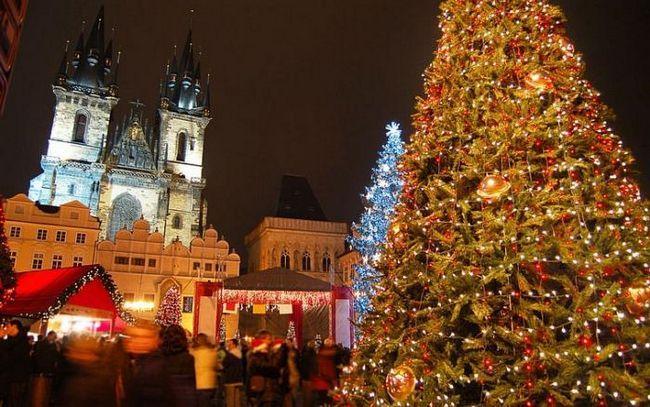 proslave Nove godine u Pragu